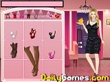 Romantic dinner date dressup