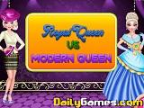Royal queen vs modern queen
