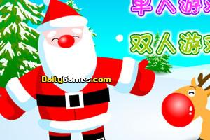 Santa Claus Collects Gifts