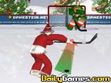 Santa Hockey Shootout
