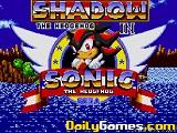 Shadow the hedgehog in sonic the hedgehog