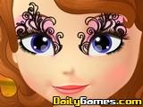 Sofia the First Face Art