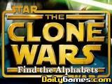 Star Wars find the alphabet