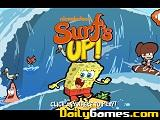 Surf up cartoon