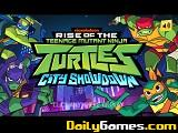 The teenage mutant ninja turtles city showdown