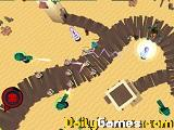 Tower defense alien invasion