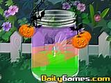 Betsys Crafts Halloween Candle Jar