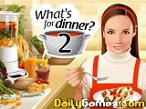 Whats for dinner 2 second serving