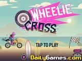 Wheelie cross beach