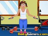 Zoe at Gym