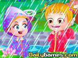 Baby Hazel First Rain