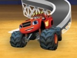 Blaze and the Monster Machines Super Shape Stunt Puzzles