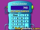 Speaking calculator