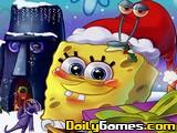 Puzzle de Navidad de Bob Esponja