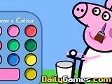 Juego de pintar a Peppa Pig