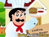 Cooking king burger