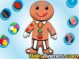 Decorate gingebread boy