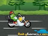 Frog motorbike game