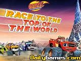 Blaze and the Monster Machines Race to the Top of the World