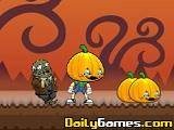 Eat Pumpkins in Zombie Town