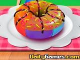 Chef Camillas Delicious Rainbow Donut