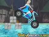 Elsa Rides to Castle