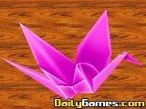 Smart Girl Fold Paper Cranes