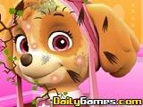 Spa facial de la Patrulla Canina