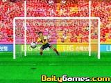 Penalty kick goal king