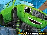 Pickle Monster truck puzzle de Blaze