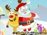 Rudolf y Papa Noel