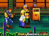 Streets of rage 2 Simpsons Edition