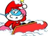 Smurfs Snowboard