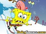 Spongebob avalanche at planktons peak