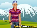 Tiger Woods dress up