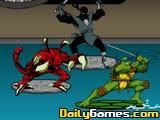 Tortugas ninja sewer surf
