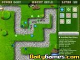 Tower defence war
