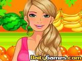 Barbie Fruiterer Dressup