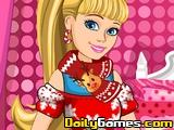Barbies Christmas Patchwork