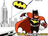 Batman Cartoon Coloring