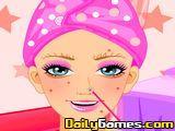 Beach Barbie Facial Makeover