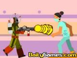 Captain Flamethrower visits Abortion Clinic