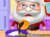 Santa Cooking Red Velvet