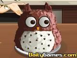 Saras Cooking Owl Cake