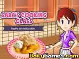 Saras Cooking Peach Cobbler