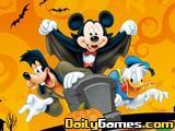 Coloring Halloween Mickey