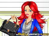 Cool Barbi School Girl