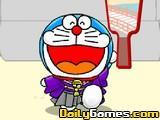 Doraemon Badminton