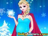 Elsas Having a Baby