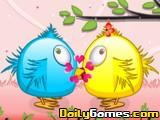 Flying Birds Kissing